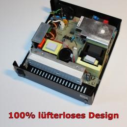Powerlader EMC-360 von innen: Lüfterloses Design, 100% Passivkühlung