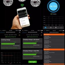Smartfon-App des Batteriemonitors BM2