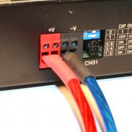 Kabelanschluss Geräterückseite Powerlader