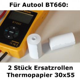 Satz Papierrollen für Autool BT660