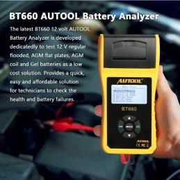 Batterietester Beschreibung