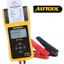 Werkstatt-Batterietester mit Drucker