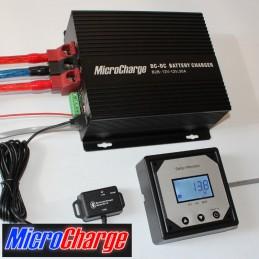 MicroCharge-Ladewandler 12V/30A mit Zubehör