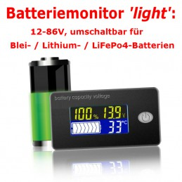 Batteriemonitor 'light'