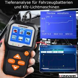 KONNWEI KW650 Batterie-Analysator