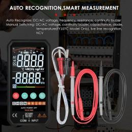 Alles drin, alles dran: Kapazitätstest, Temperaturmessung, Frequenzmessung, Widerstandsmessung usw....