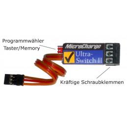 MicroCharge Ultra-Switch II mit Schraubklemmen