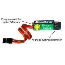 MicroCharge Easy-Switch mit Schraubklemmen