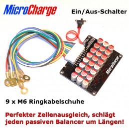MicroCharge Power-Equalizer für 24V-Lithium-Batterien (8 Zellen)