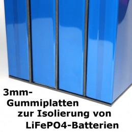Satz 3mm NBR-Gummiplatten für LiFePO4-Akkus