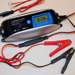 Foxsure Garagenlader für 6 und 12V-Batterien