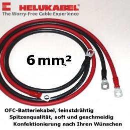 Batteriekabel, 6mm², mit...