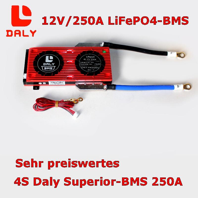 Daly BMS 4S/250A für LiFePO4-Batterien