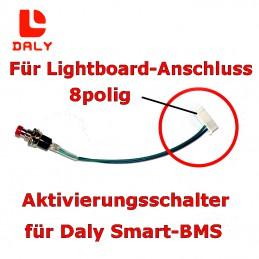 Aktivierungsschalter ist auch in achtpoliger Version erhältlich (für Anschluss an die Lightboard-Buchse)