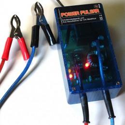 Power-Pulsar mit starken Batterieklemmen